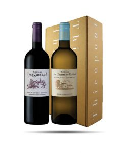 End of Year Gift Box, Bordeaux Selection 2 (2 bottles)