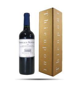 End of Year Gift Box, Bottle Bordeaux Supérieur