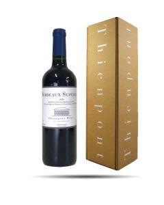 Eindejaarsgeschenk, Fles Bordeaux Supérieur